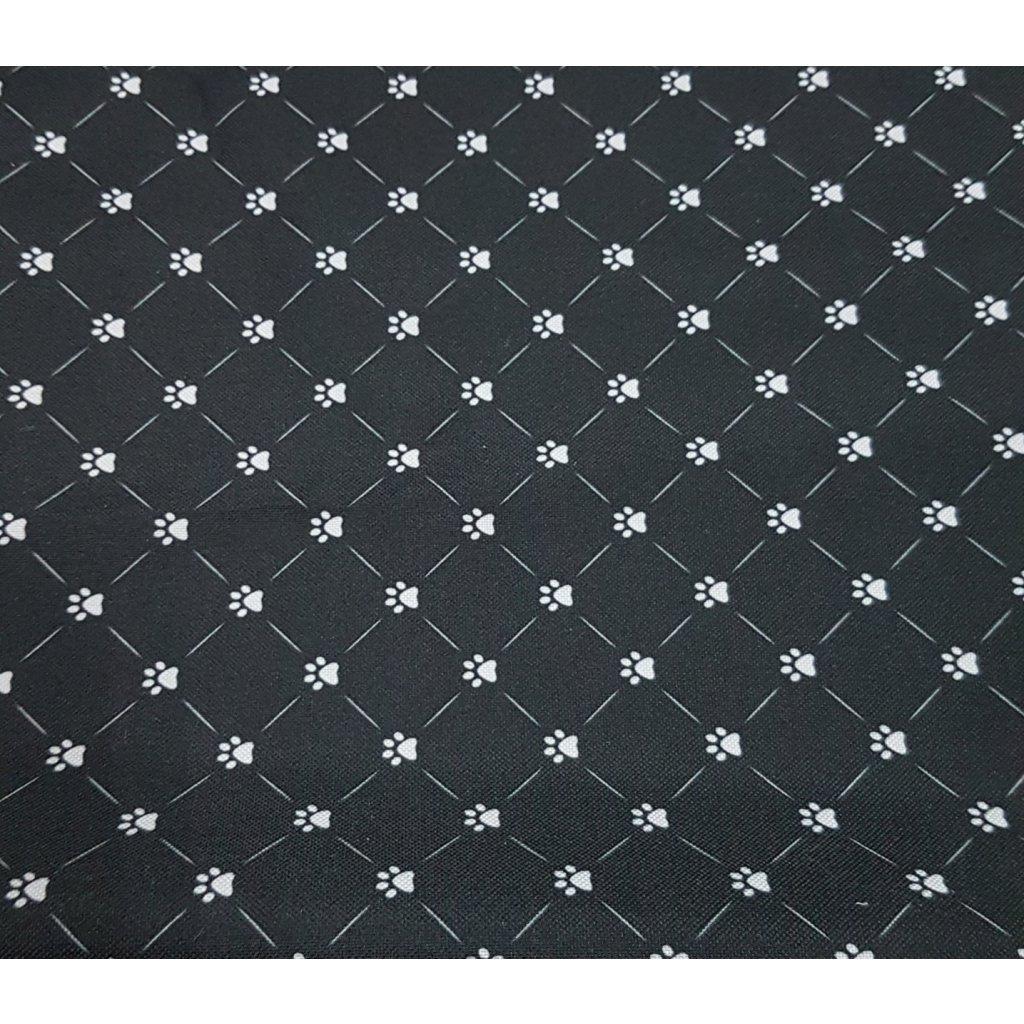 Buda, domček pre zvieratá L 35(H) x 40(S) x 37(V) cm, 9020/CIE - Čierna lapka