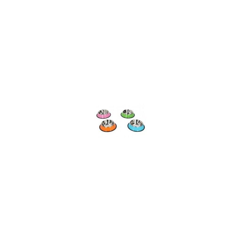 Miska pre zviera farebná 16cm  ZL00891, 10937/ORA - Oranžová