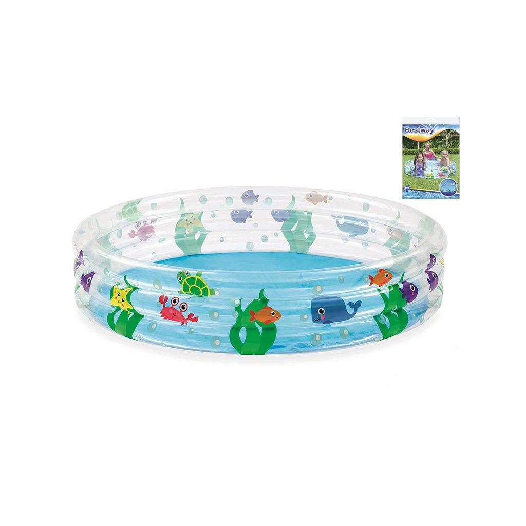 Bazén 152x30cm 3komory 282L 24m+ v sáčku