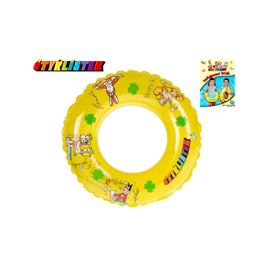 Kruh Štvorlístok transparentný 50cm 3-10 rokov v sáčku