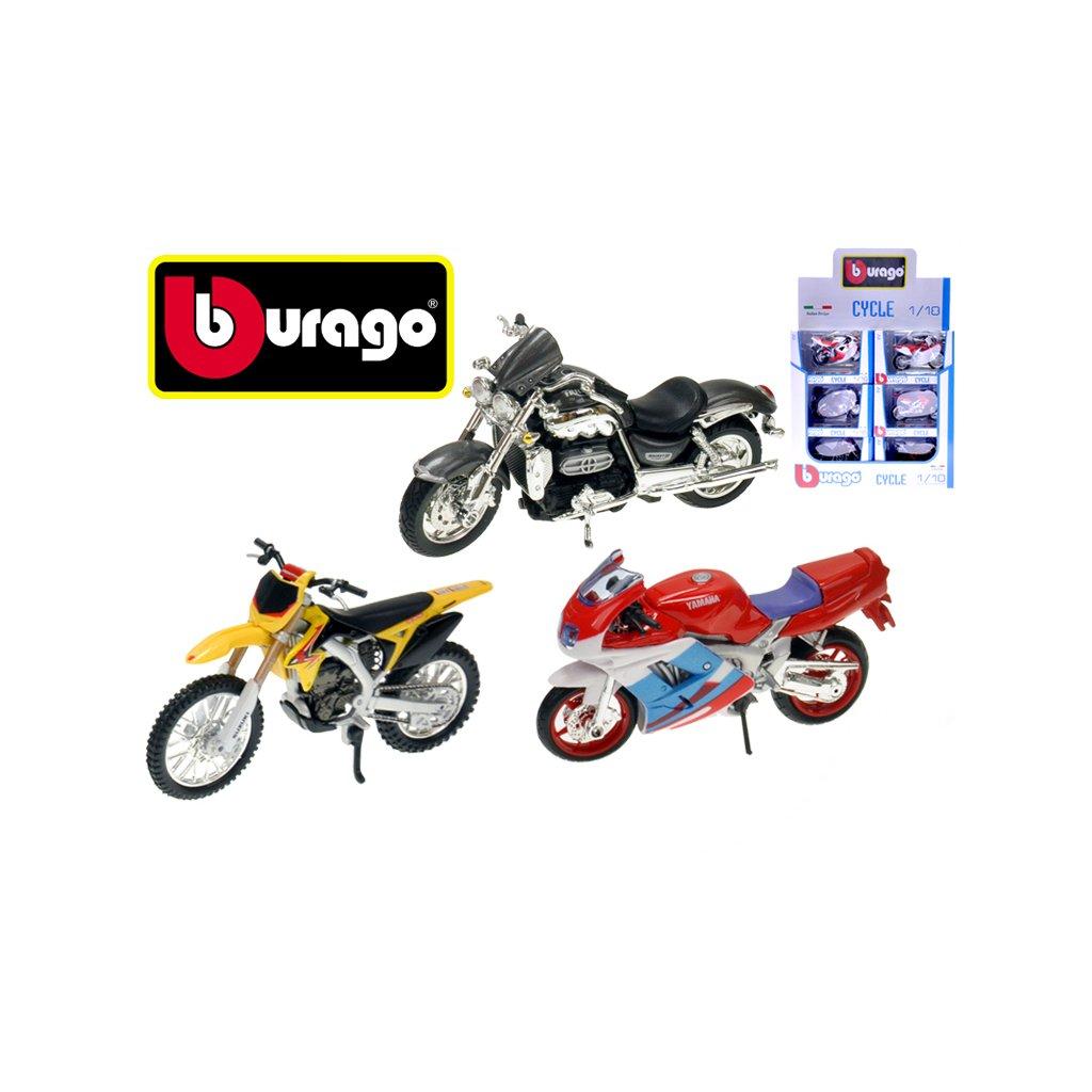 Bburago 1:18 MOTOCYCLE 14druhov 18ks v DBX