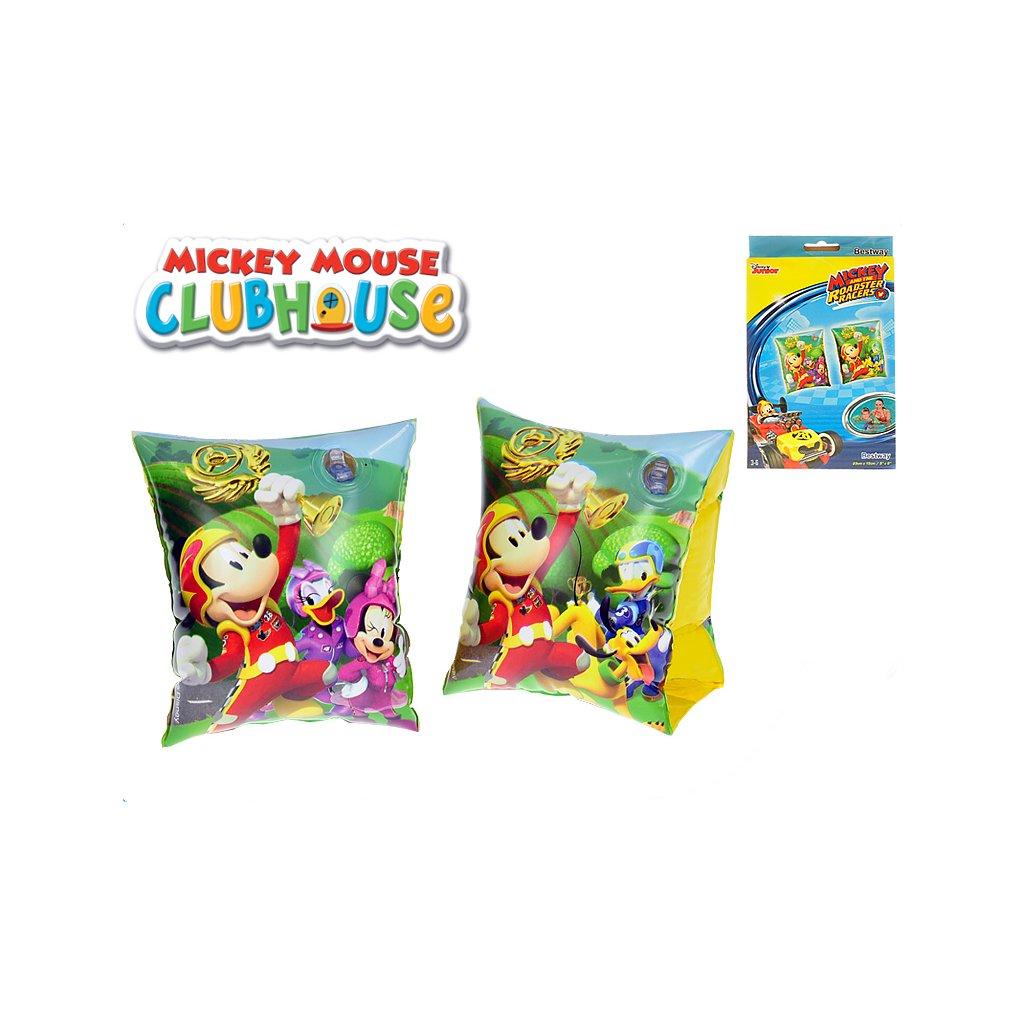 Rukávniky Mickey Mouse nafukovacie 23x15cm 3-6 rokov v krabičke