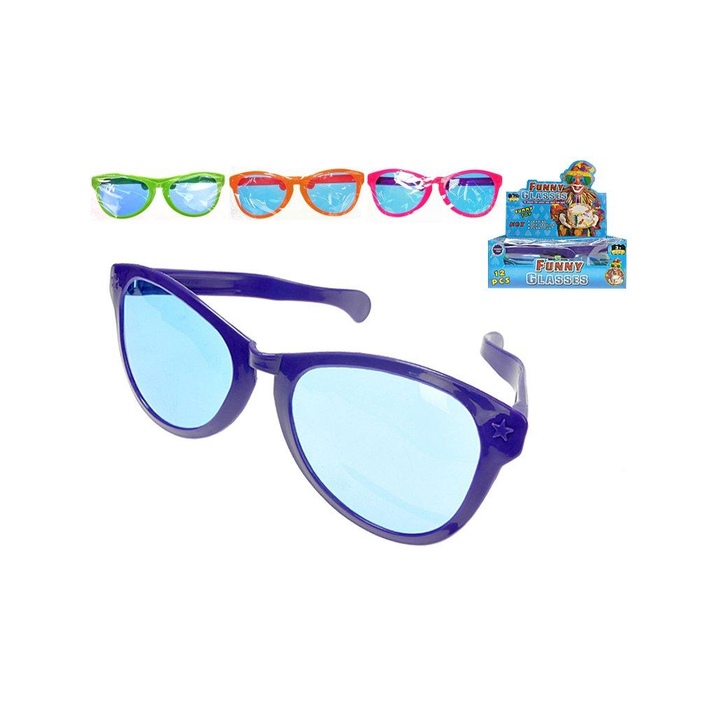Slnečné okuliare 26cm 4farby 12ks v DBX