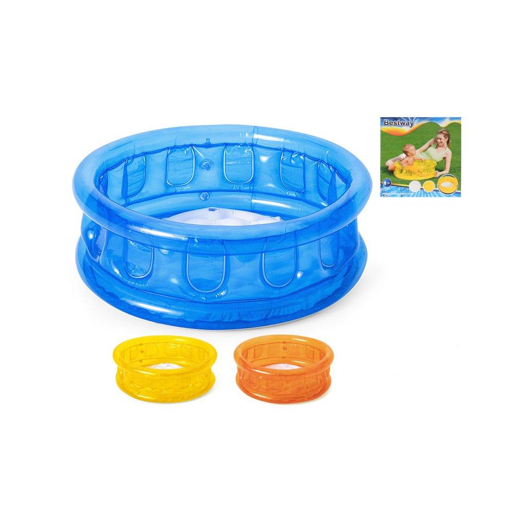 Bazén nafukovací 64x25cm 26L 3farby 24m+ v krabičke