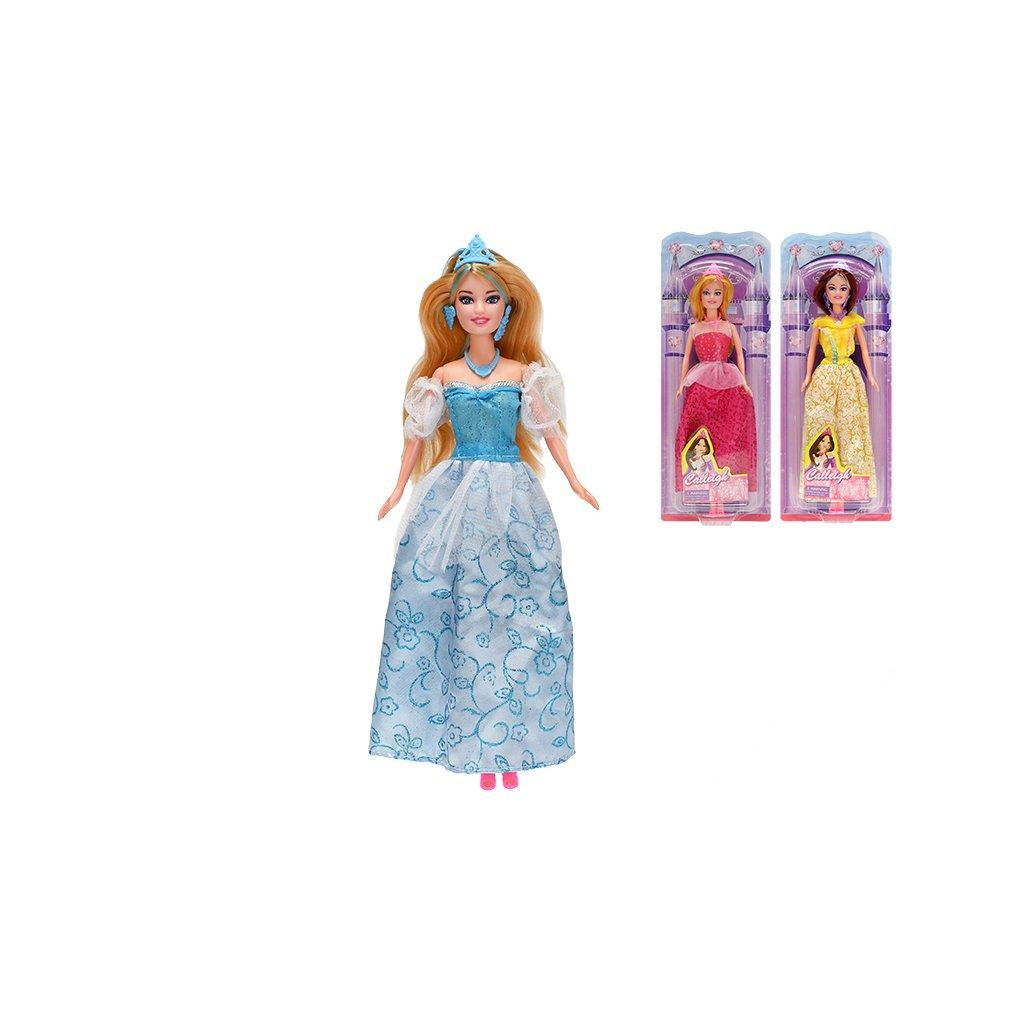 Bábika princezná 29cm kĺbová 3 druhy na karte