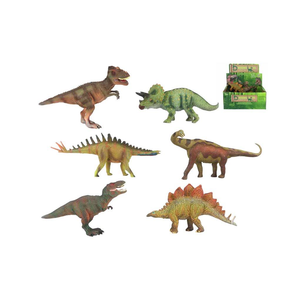 Dinosaurus 15-18cm 6 druhov 12ks v DBX