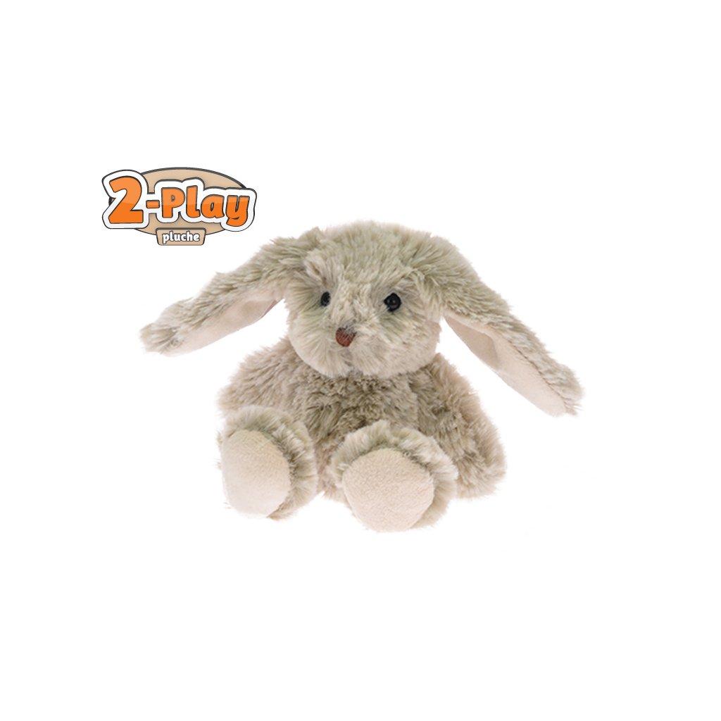 Zajačik plyšový 2-Play 18cm 0m +