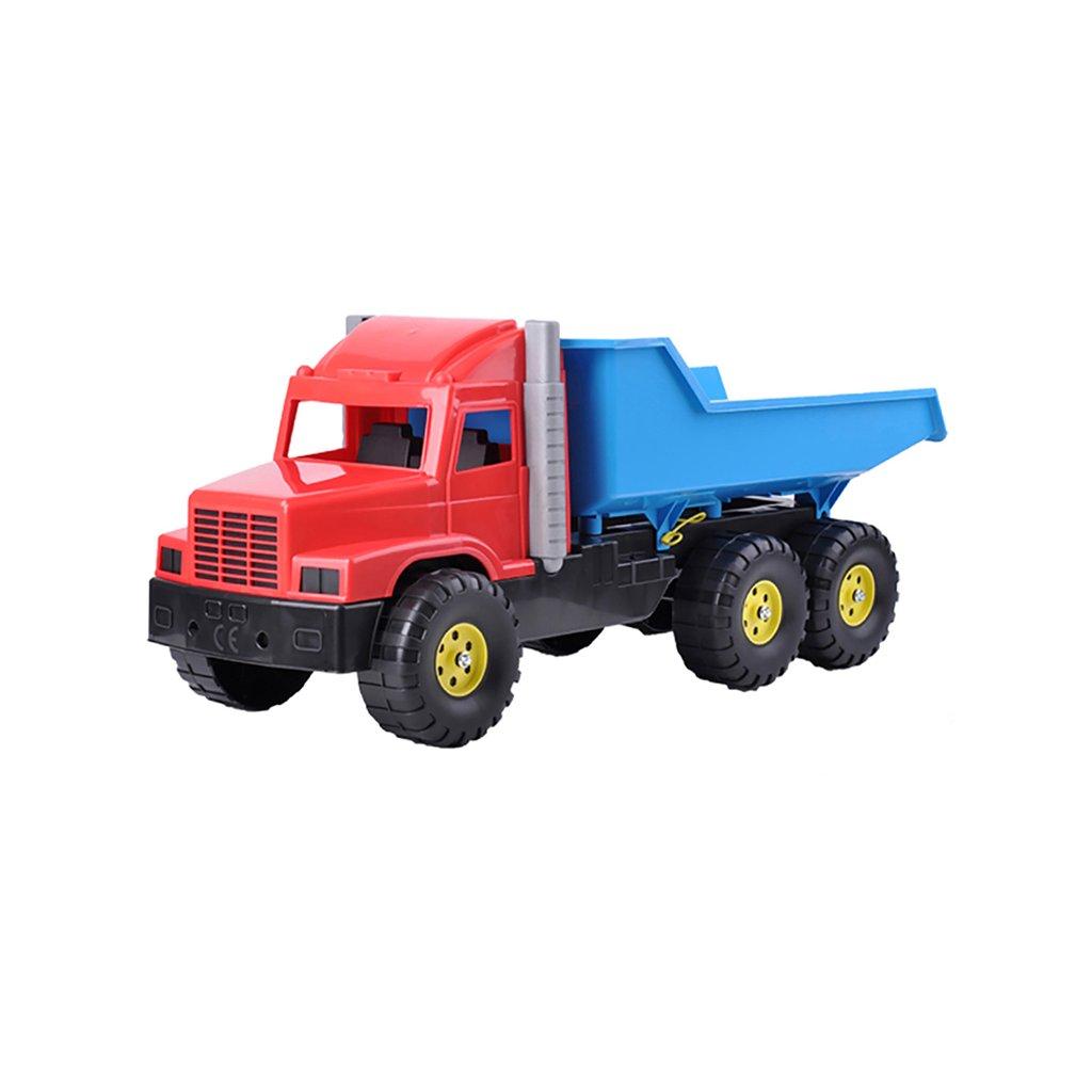 Auto nákladné 77cm červeno-modré