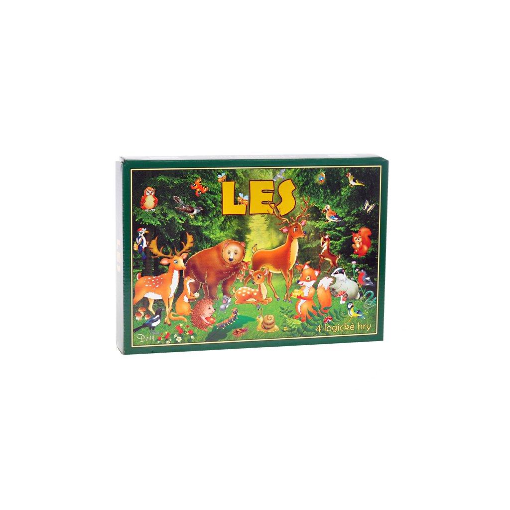Logické hry Les v krabičke