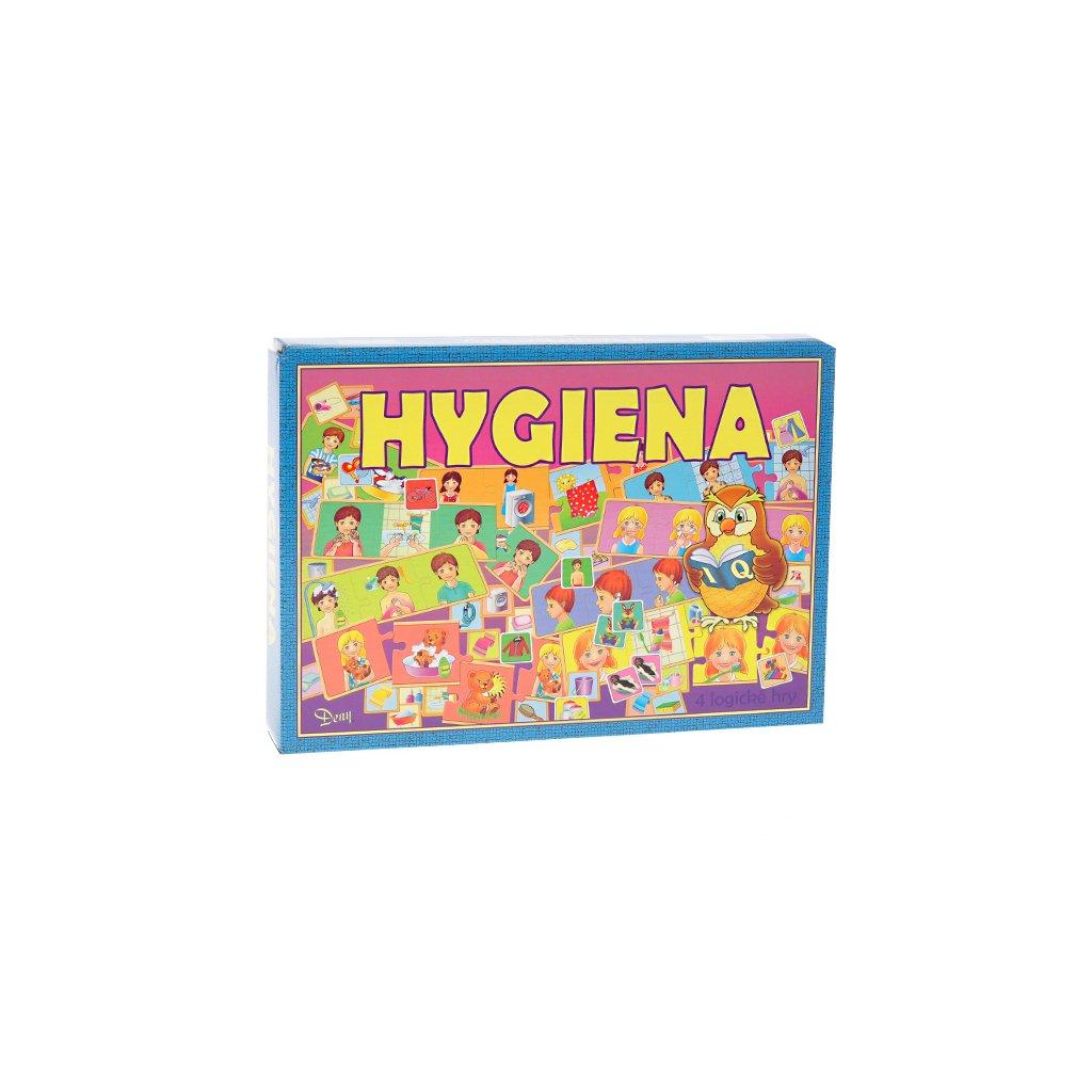 Logické hry Hygiena v krabičke