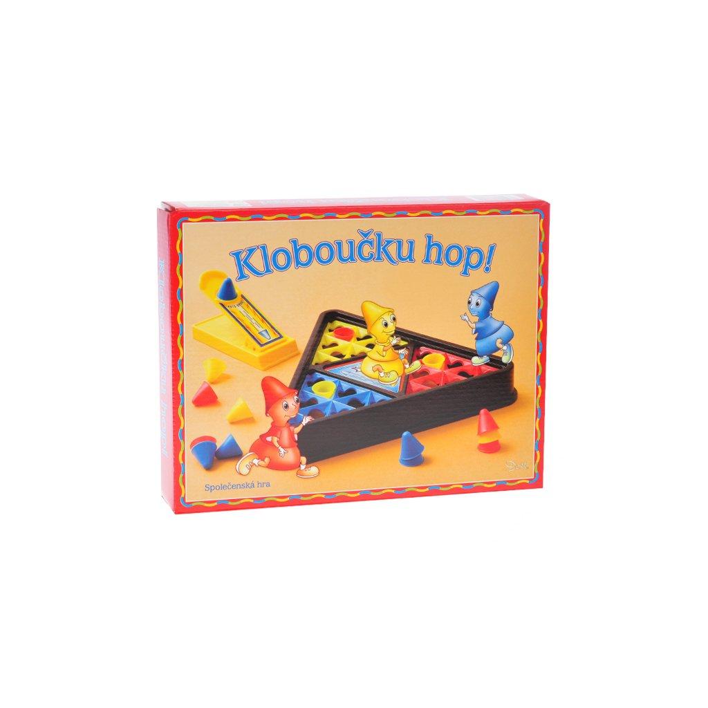 Spoločenská hra Klobúčik hop! v krabičke