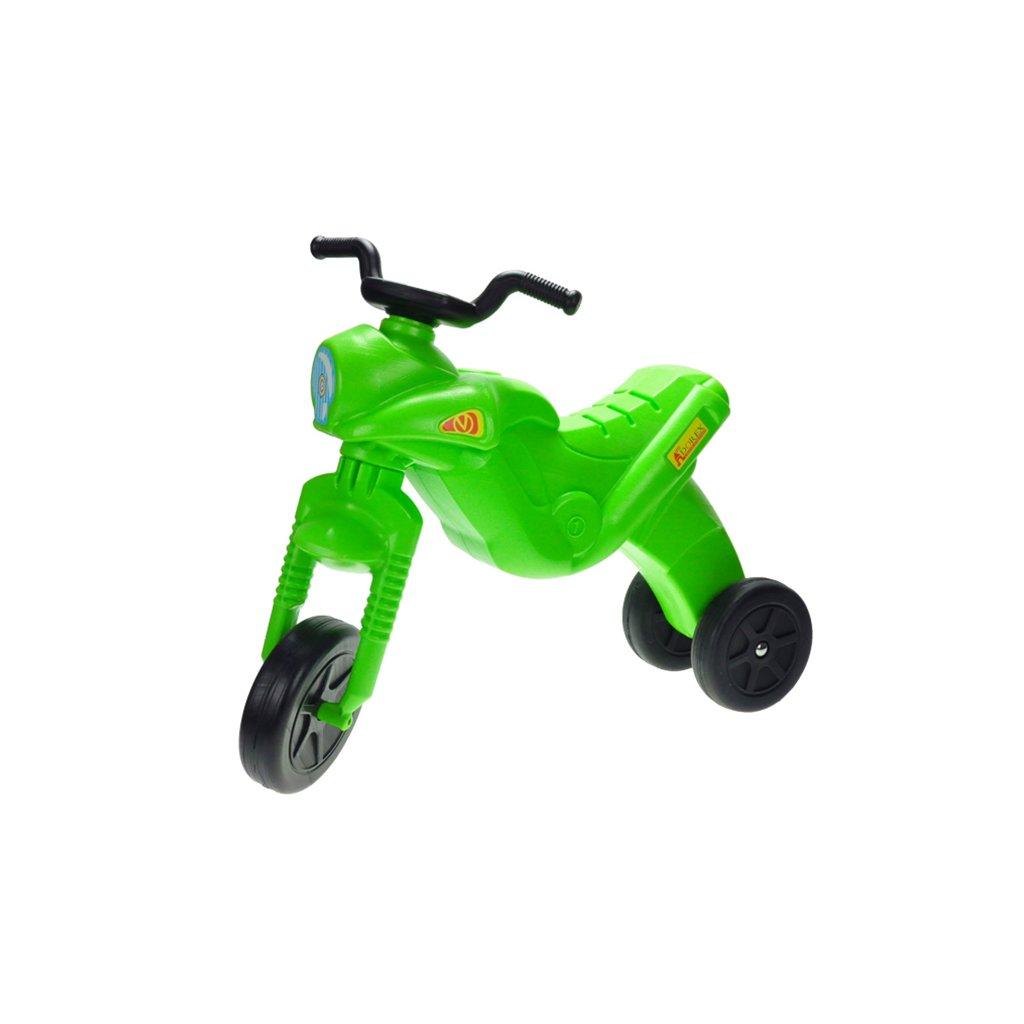 Odrážadlo Enduro Maxi zelené max. 25kg 20m+