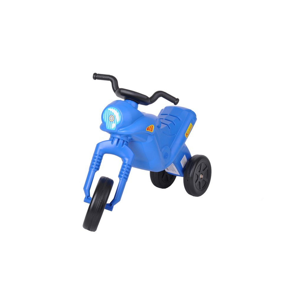 Odrážadlo Enduro Klasik modré max. 25kg 18m+
