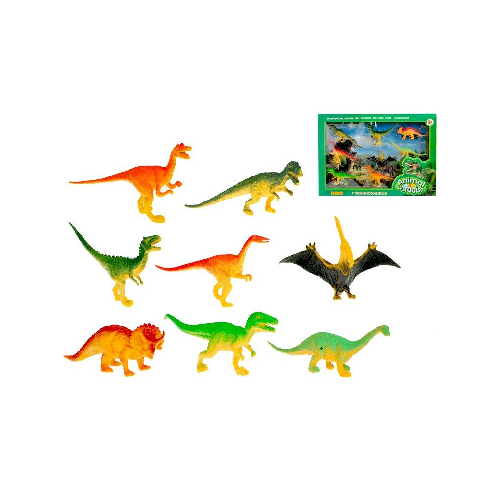 Dinosauri 9-13cm 8ks v krabičke