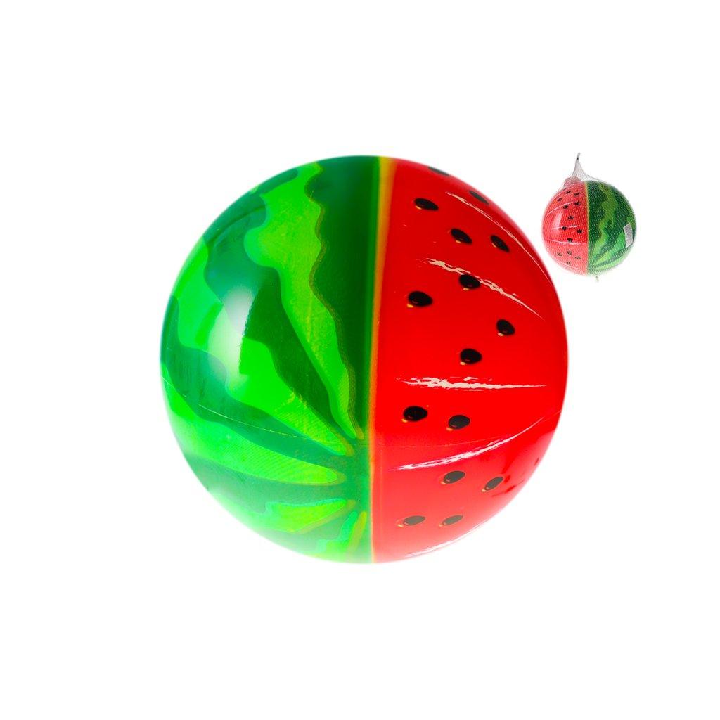 Lopta 23cm vodný melón 10m+ v sieťke