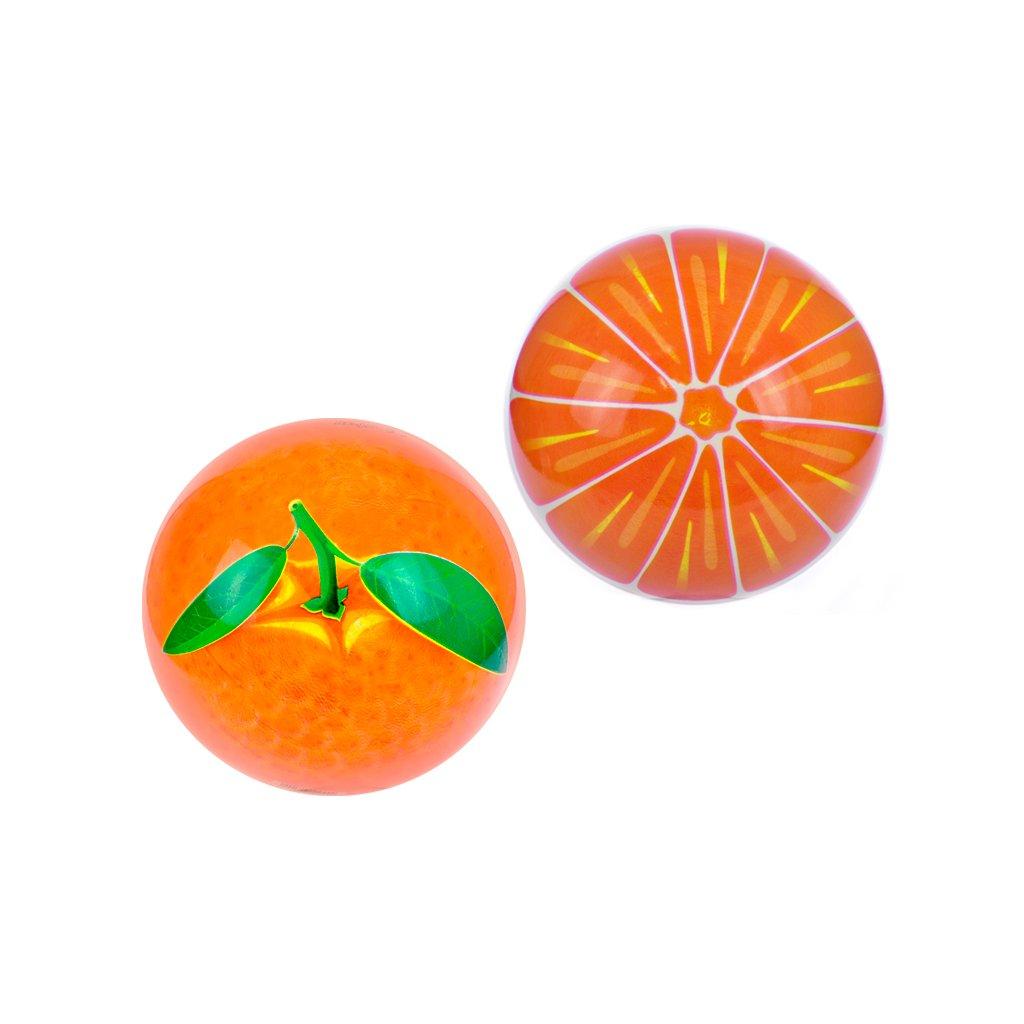 Lopta 23cm pomaranč 10m+ v sieťke