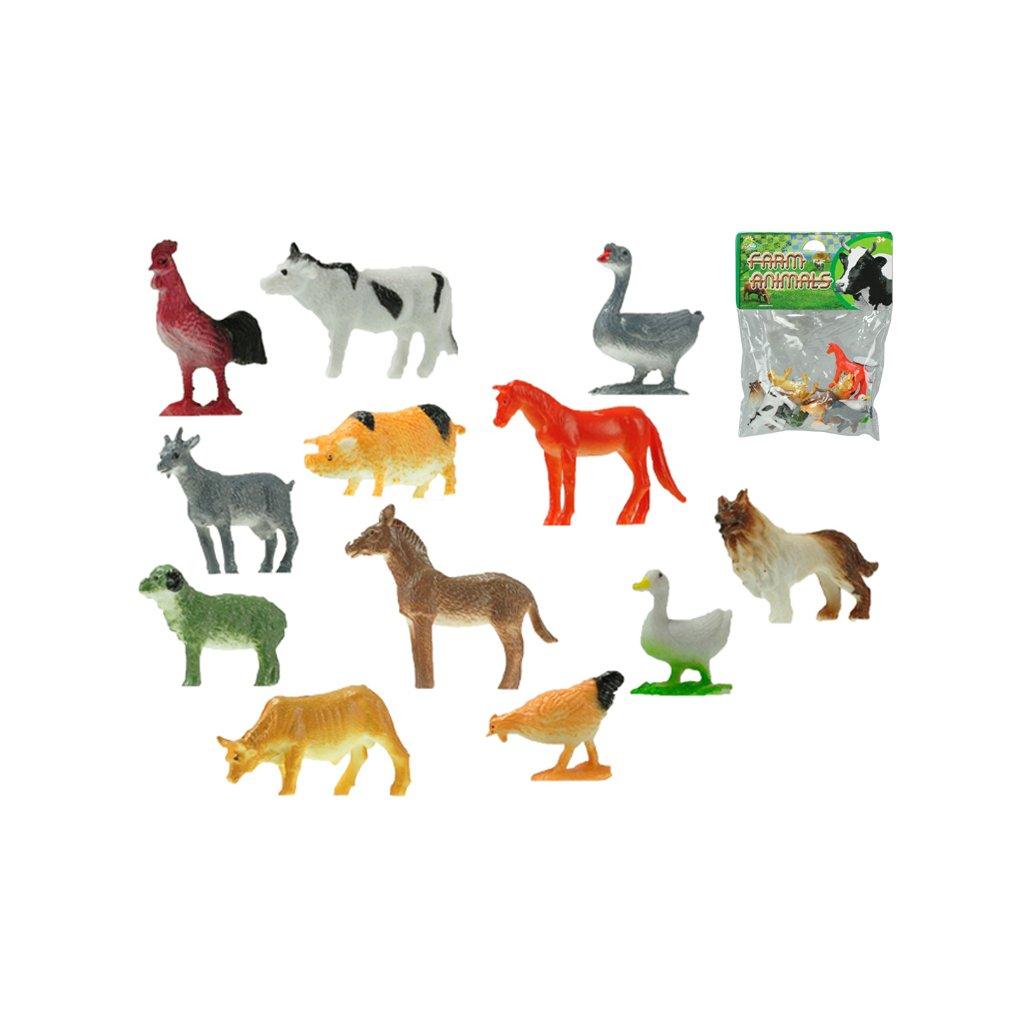 Zvieratka farma 3-5cm 12ks v sáčku