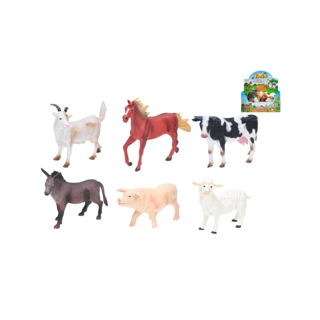 Zvieratká farma 15-20cm 6druhov 12ks v DBX