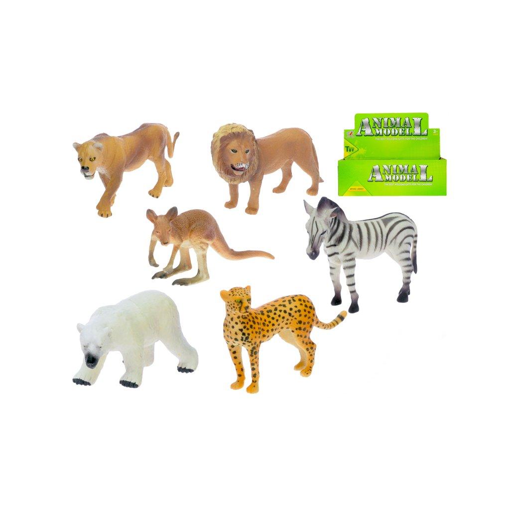 Zvieratko safari 10-12cm 6druhov
