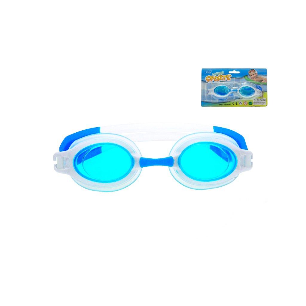 Plavecké okuliare 16cm na karte