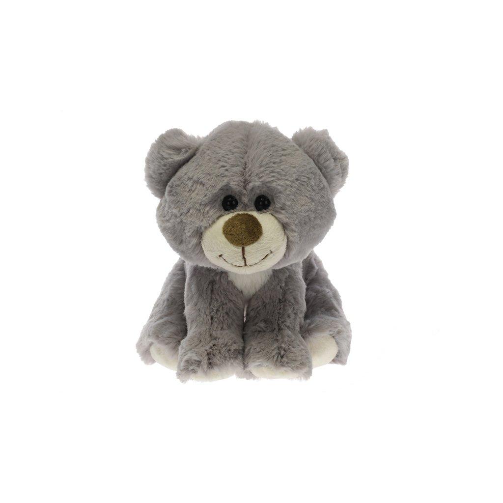 Medvedík plyšový 19cm sediaci 0m+
