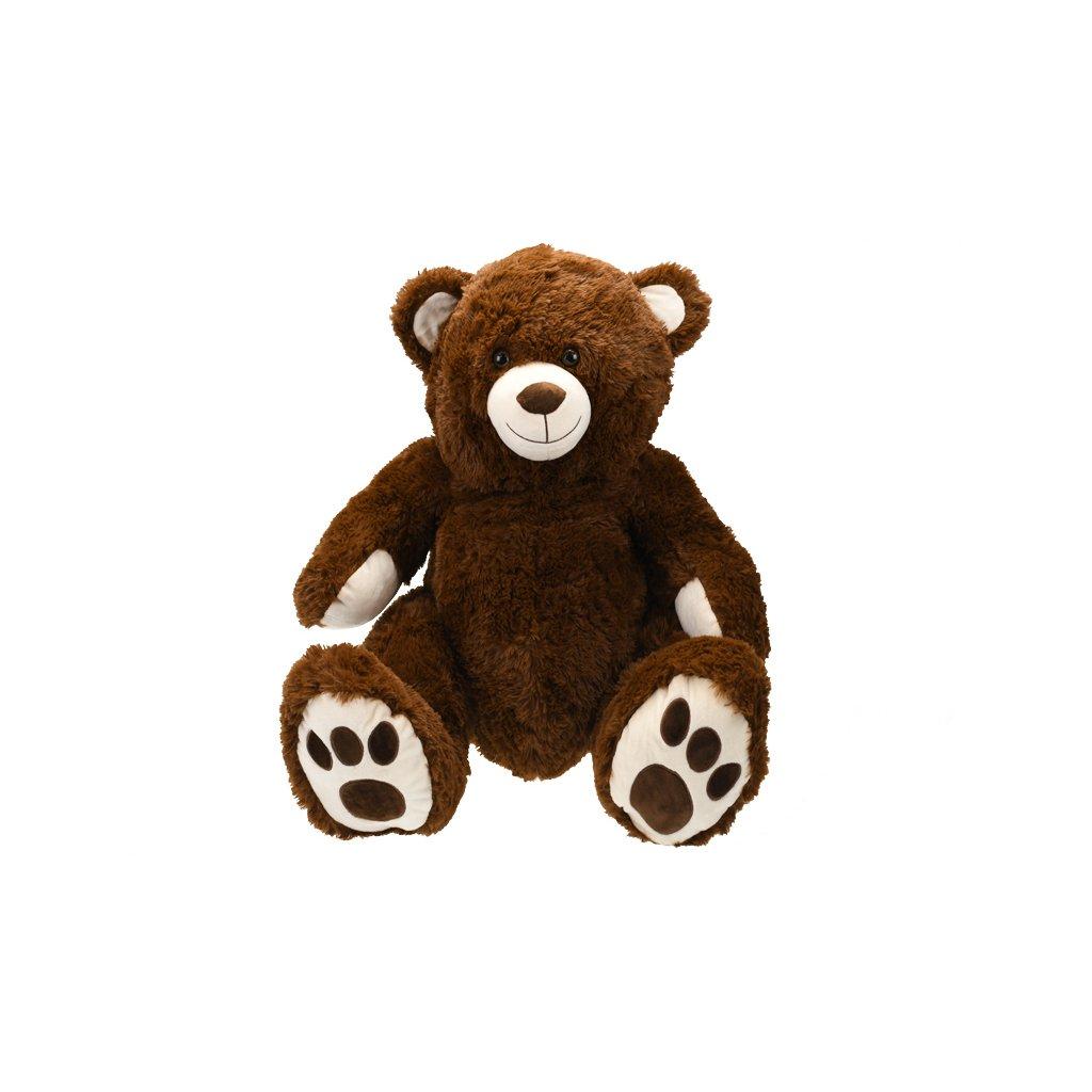 Medveď plyšový 58cm sediaci 0m+ v sáčku