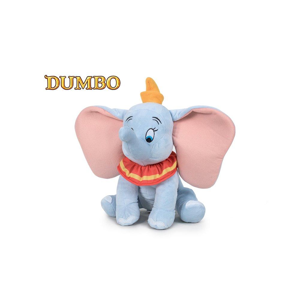 Dumbo slon plyšový 30cm sediaci 0m +