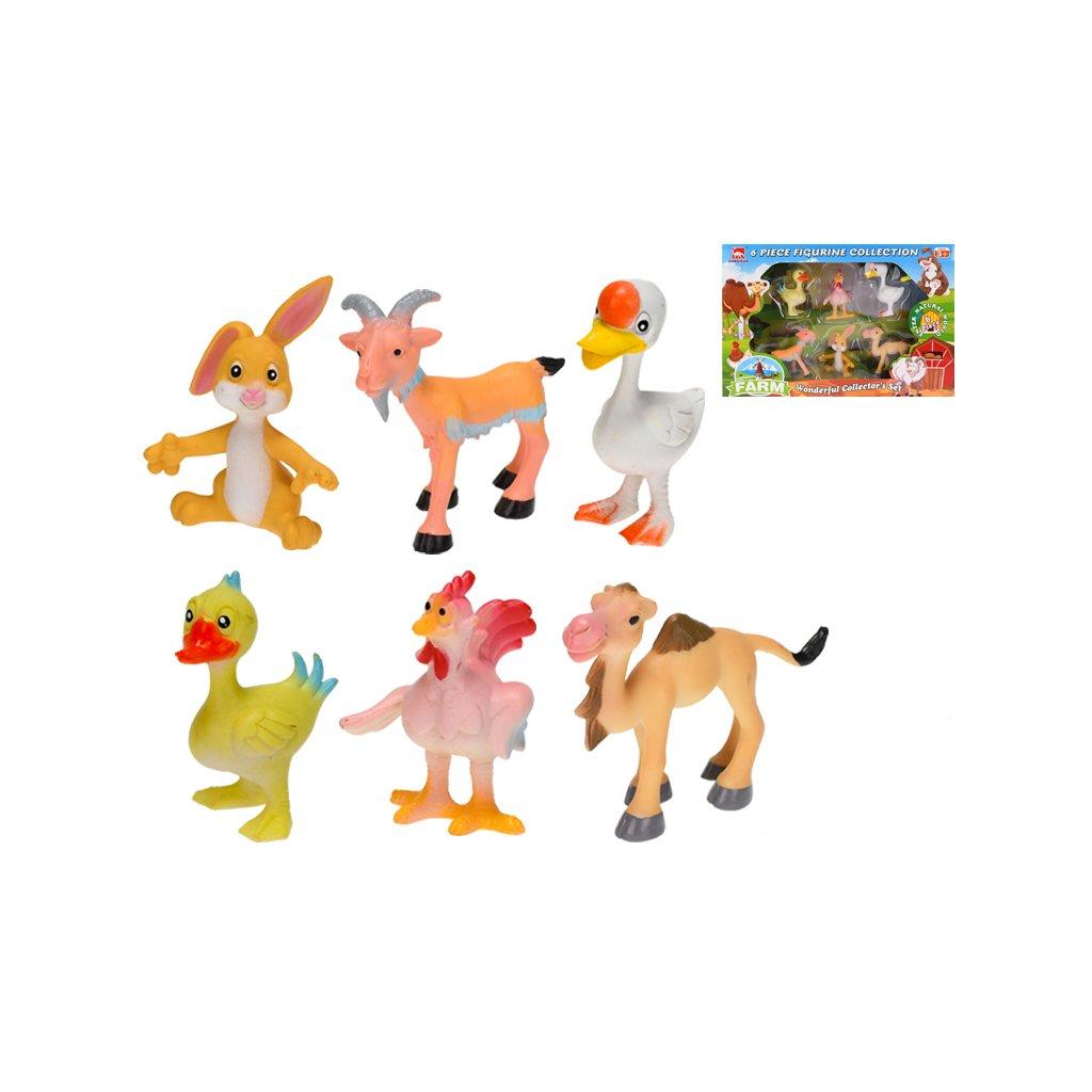 Zvieratká farma 7-8cm 6ks v krabičke