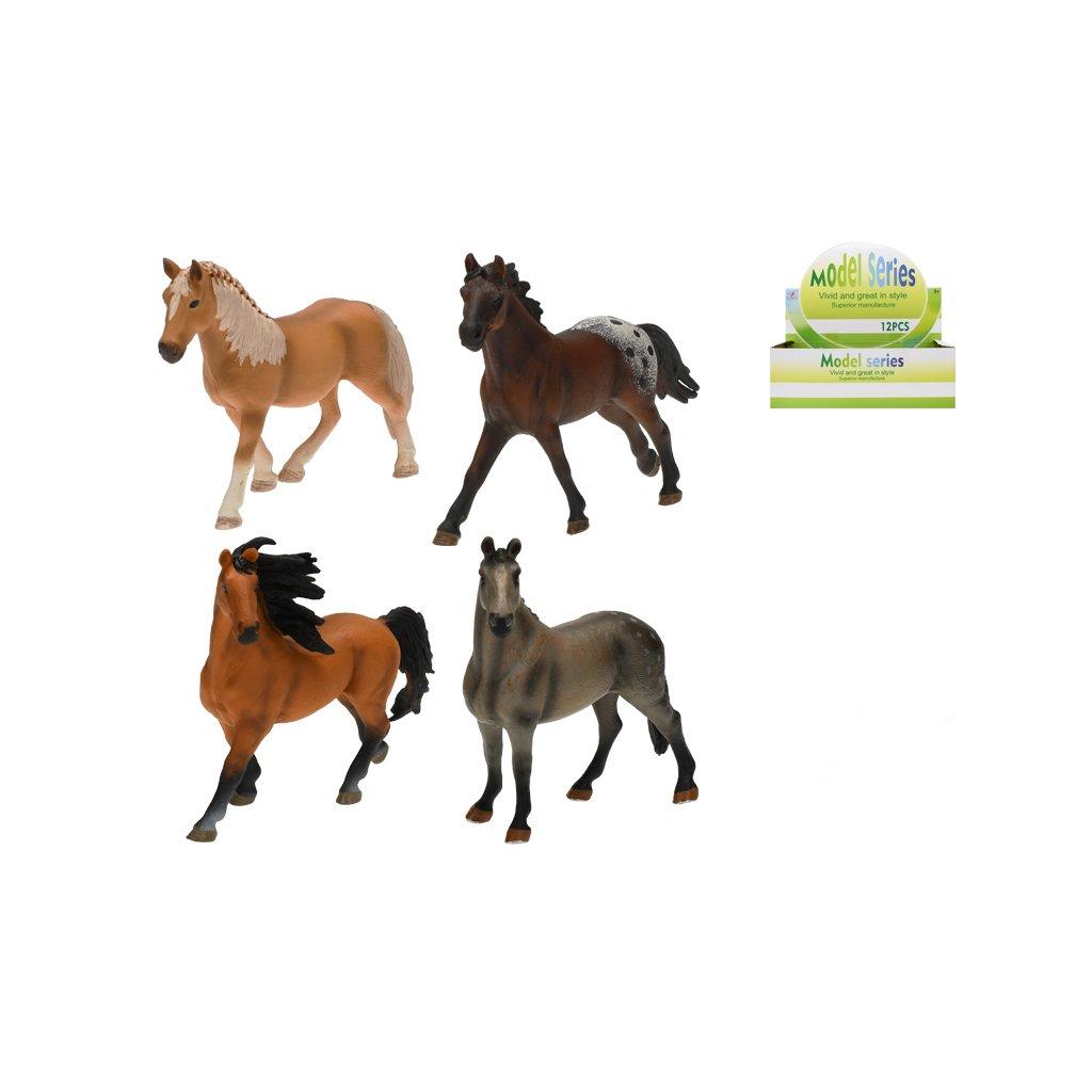 Kôň 14cm 4druhy v sáčku