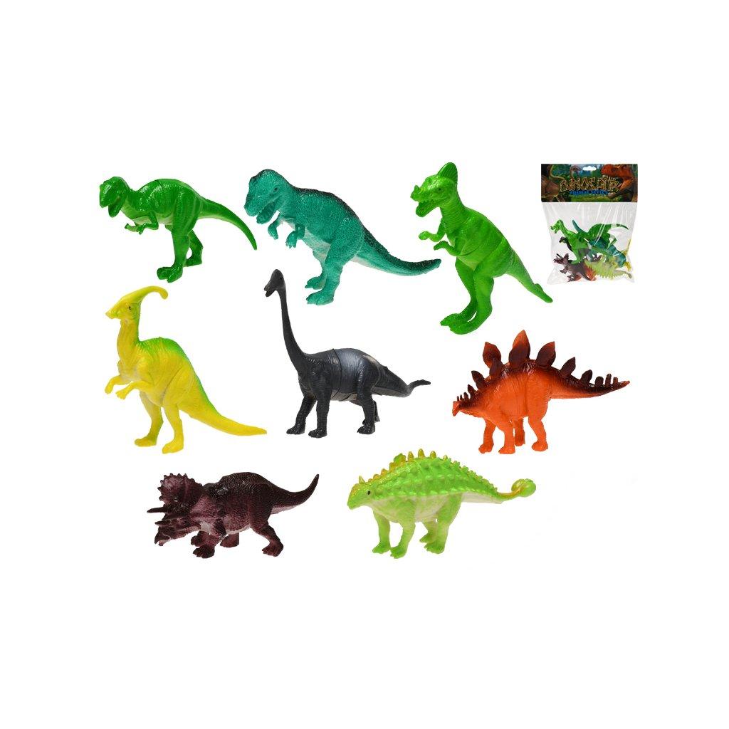 Dinosaurus 11-14cm 8ks v sáčku