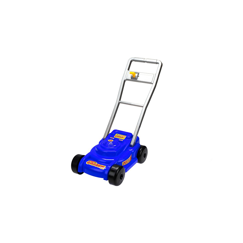 Kosačka na trávu 56x28x56cm modrá