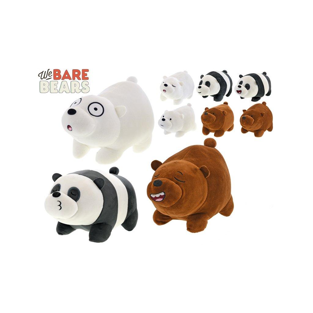 We Bare Bears zvieratko plyšové 26cm 9druhov 0m +