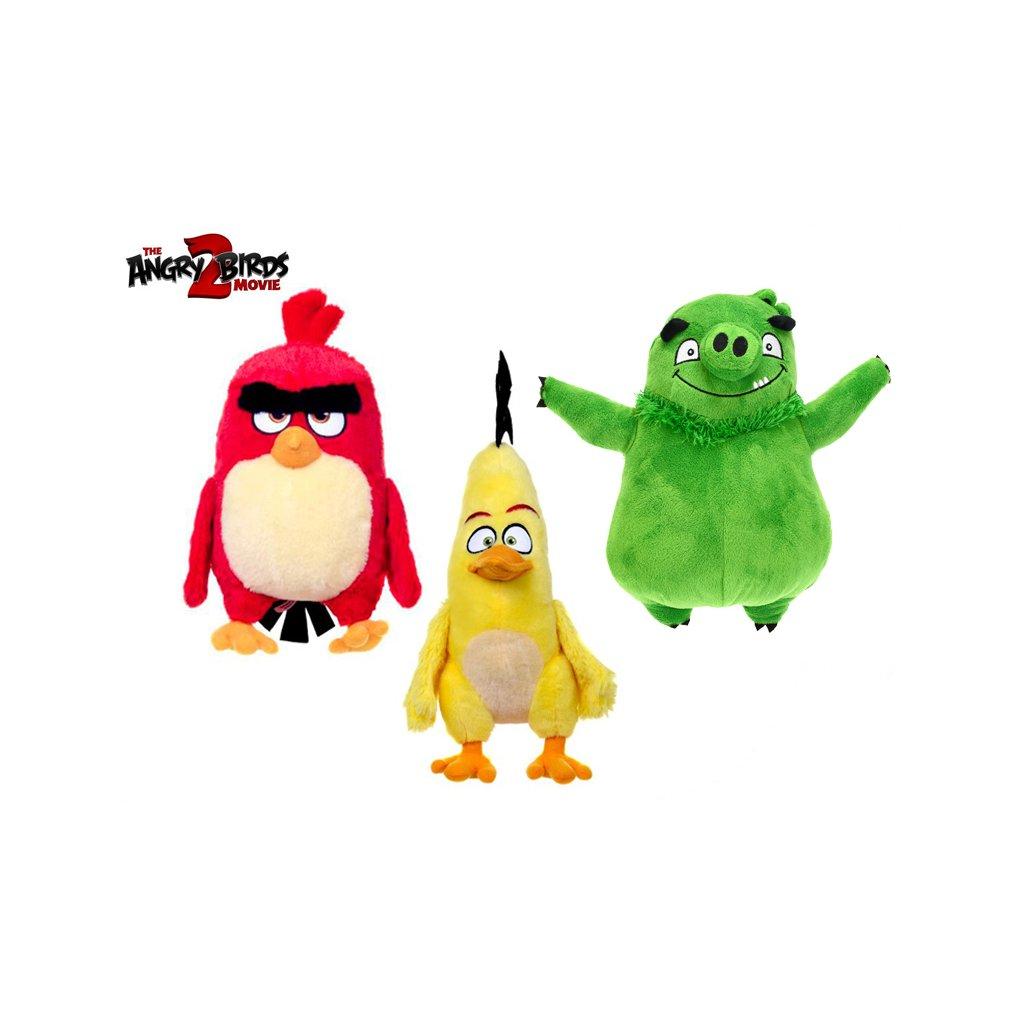 Angry Birds Movie 2 plyšový 3druhy 0m+