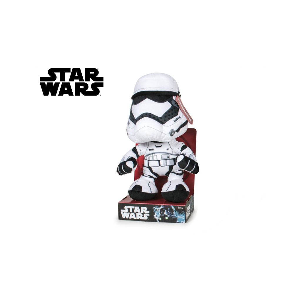 Star Wars Stormtrooper plyšový 30cm v krabičke 0m+