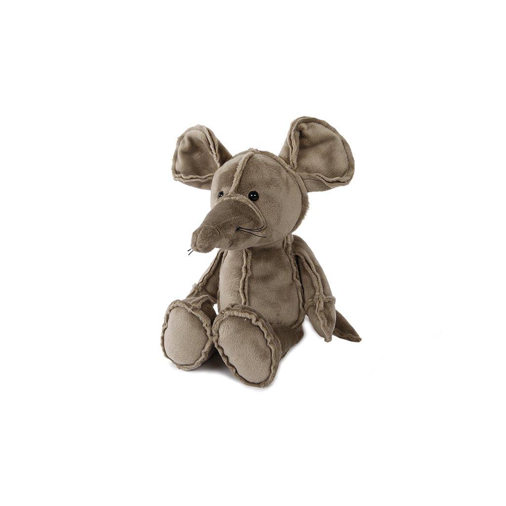 Myš plyšová 26cm sediaca