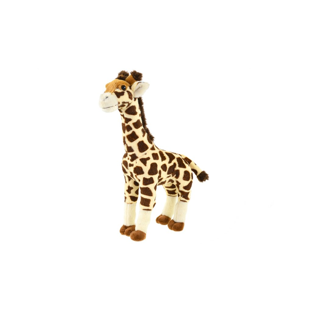 Žirafa plyšová 34cm stojaca 0m+ v sáčku