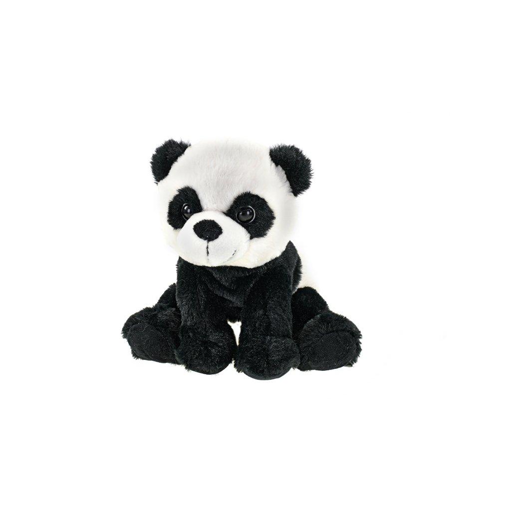 Panda plyšová 19cm sediaci 0m+ v sáčku