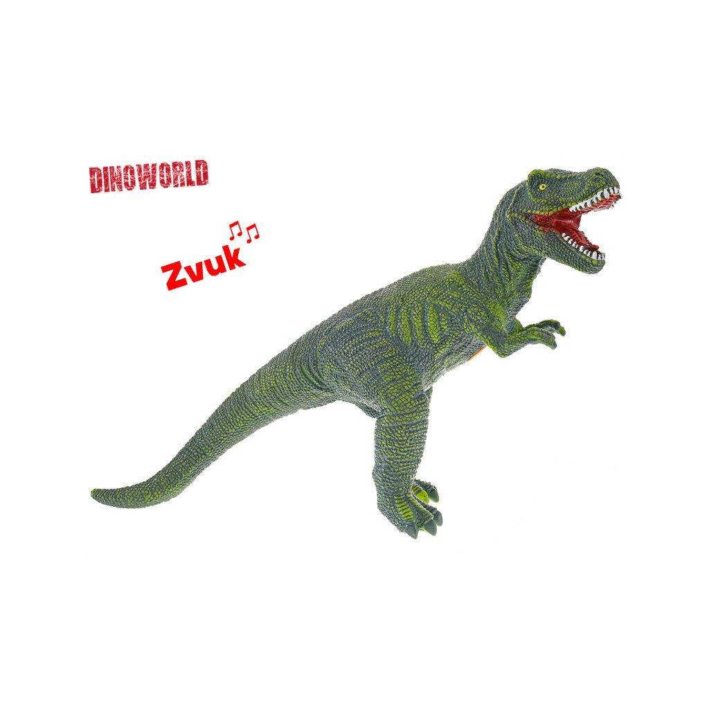 Tyranosaurus Rex 57cm na batérie so zvukom v sáčku