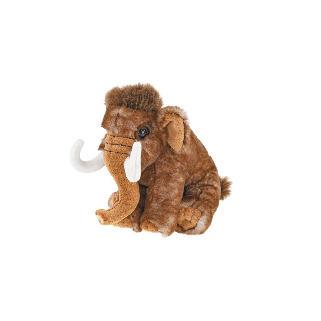 Mamut plyšový 19cm sediaci 0m+ v sáčku
