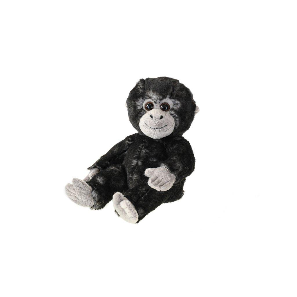 Gorila plyšová 18cm sediaci 0m+ v sáčku