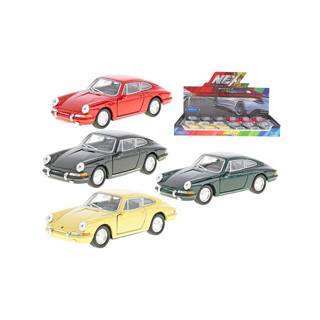 Porsche 911 1964 11,5cm kov spätný chod 4farby
