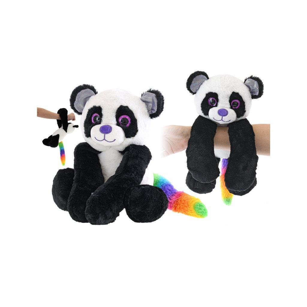 Panda plyšová 20cm visiaca na ruku 0m+