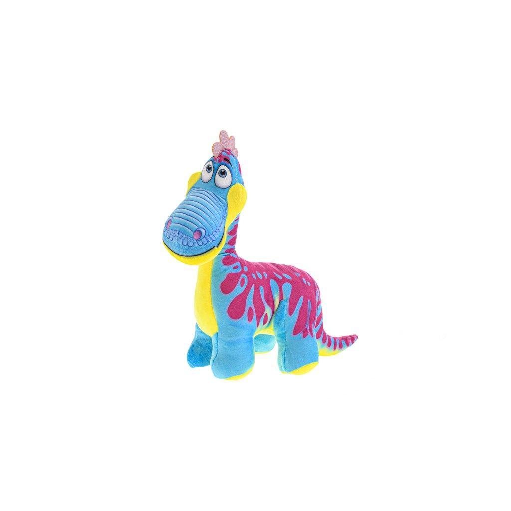 Dinosaurus plyšový 30cm stojaci modrý 0m+