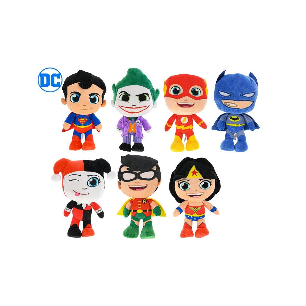 DC Super Friends 27cm plyšoví 7druhov 0m+