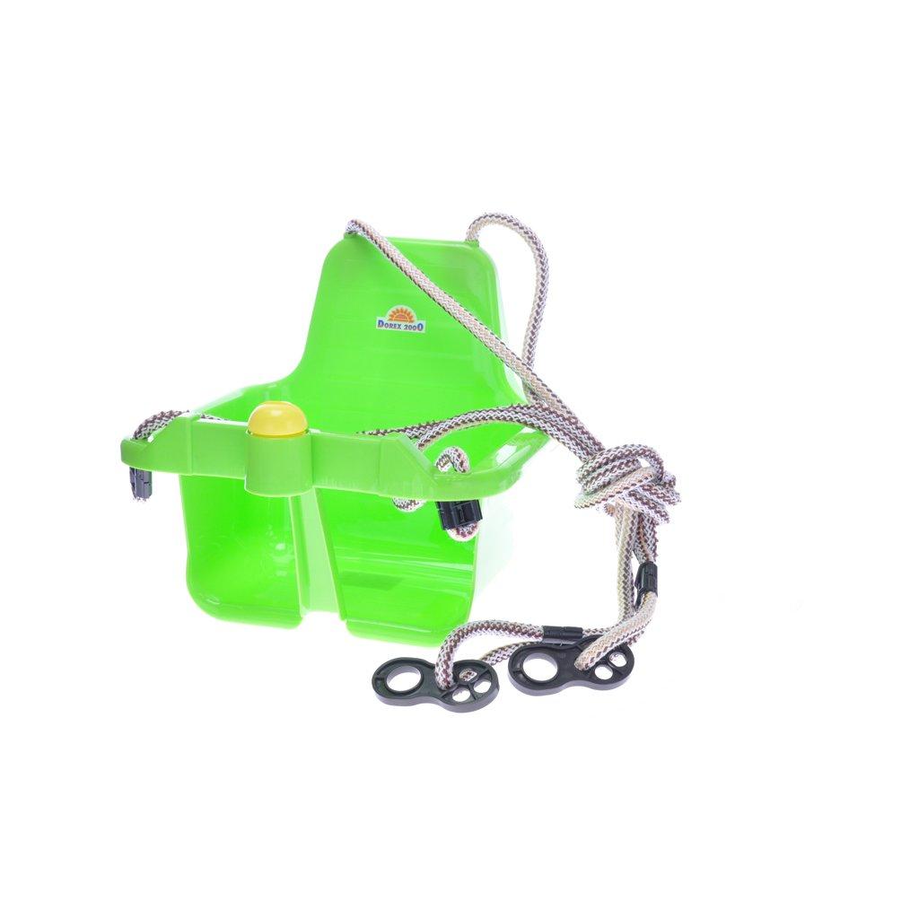 Hojdačka s klaksónom 18m+ zelená