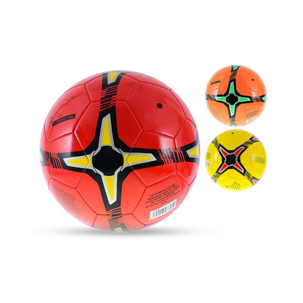 Lopta futbalová veľkosť5 210-230g 3farby v sáčku