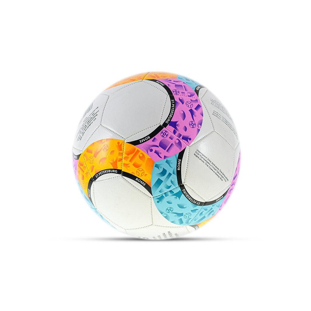 Lopta futbalová veľkosť5 210-230g farebná v sáčku