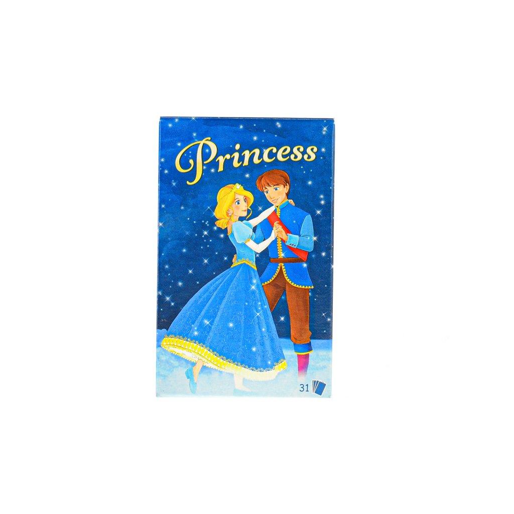 Karty Princess 31ks v krabičke