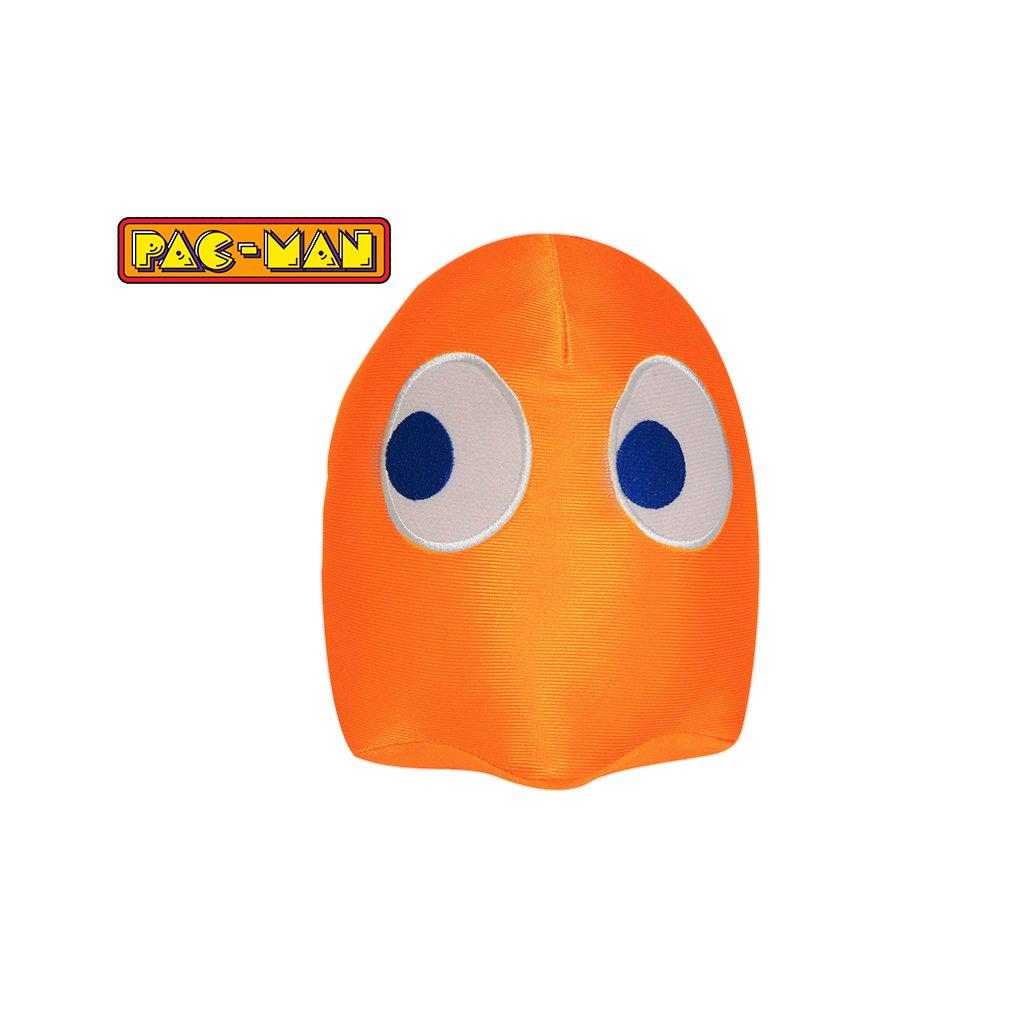 Pac-Man lesklý 14cm plyšový Ghost oranžový 0m+