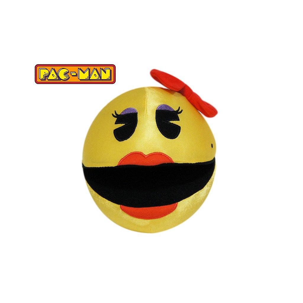 Pac-Man lesklý 14cm plyšový pani Pac-Manová 0m+